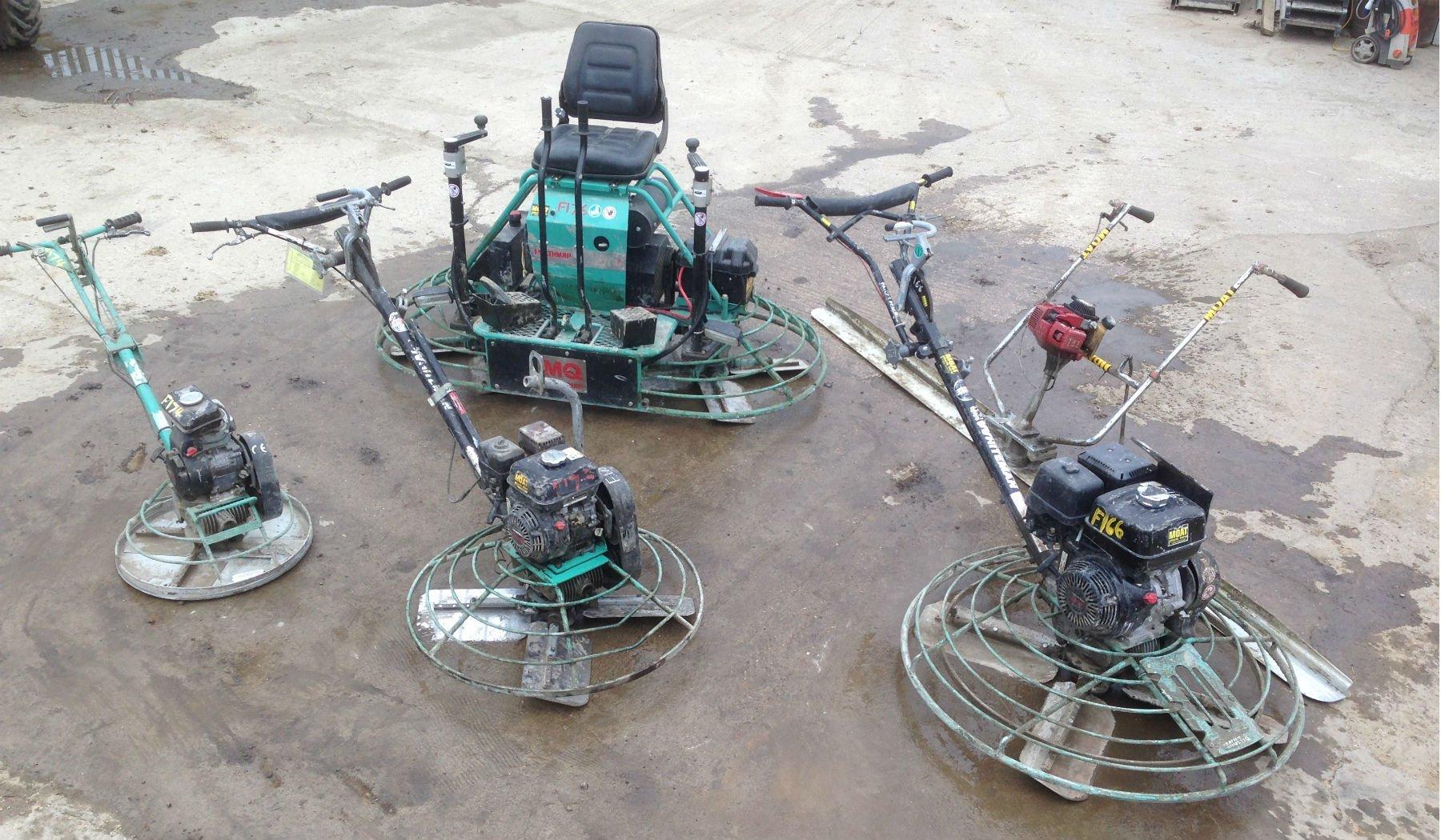 a wide range of equipment