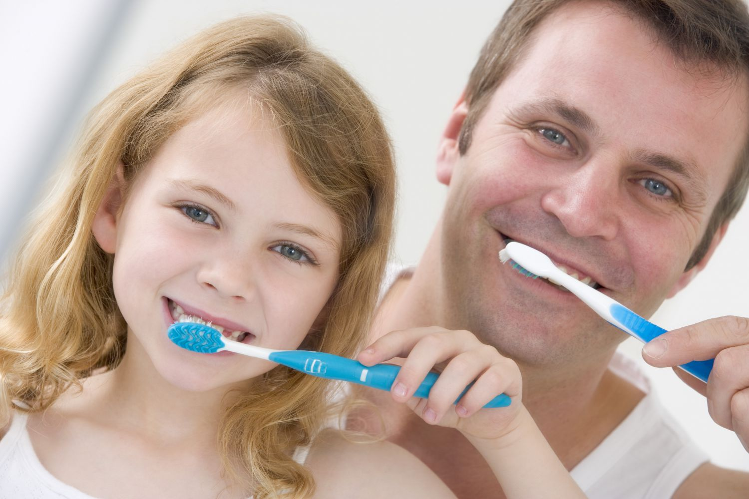 Father and daughter benefit from preventative dentistry in Kahului, HI