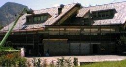 tetto casa privata