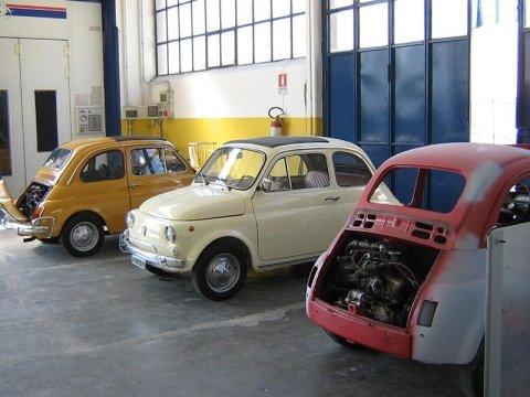 Restauro Fiat Cinquecento