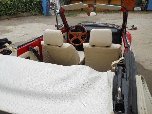 Restauro cabriolet