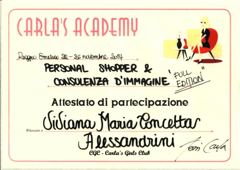 Personal Shopper,Consulente d'immagine, VIviana Alessandrini, Vivi Alessandrini, Rieti