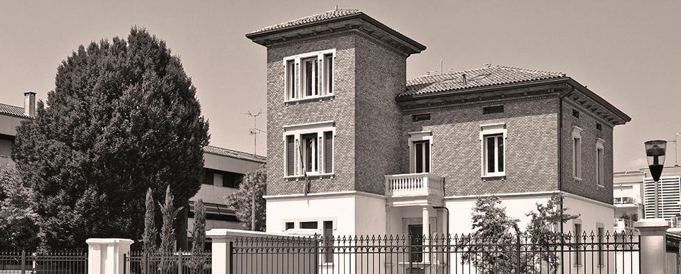 ristrutturazione villa in stile liberty