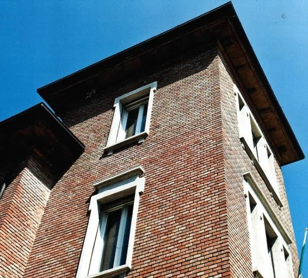 Prospettiva muratura Villa Liberty