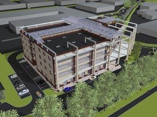 progettazione complesso commerciale Anzola