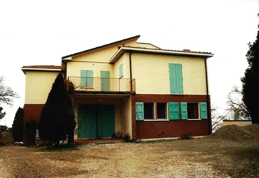 Prima della ristrutturazione Villa Anna