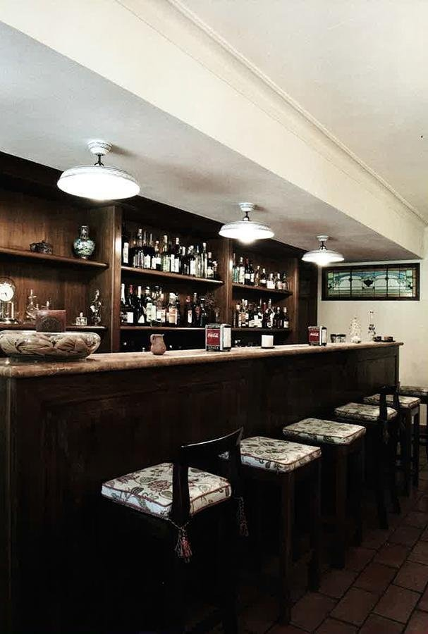 Bancone bar villa interno