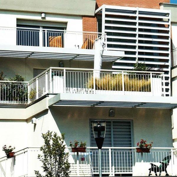 Vista balcone Villa Liberty