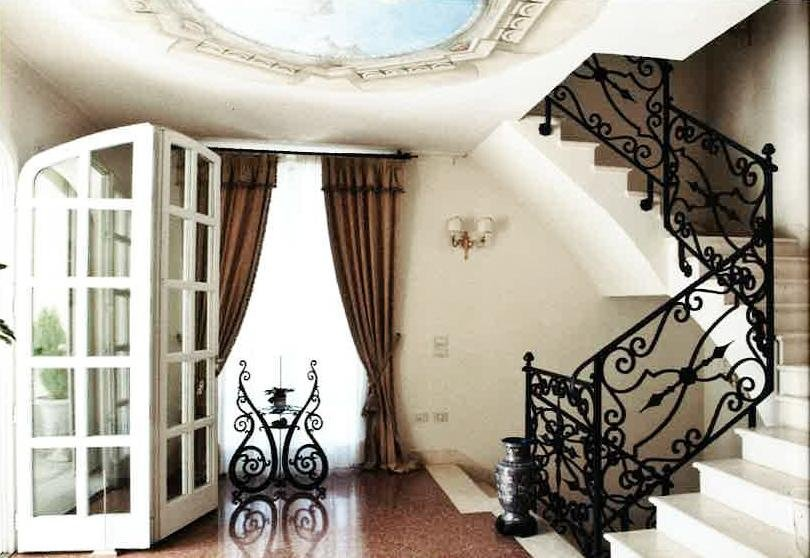 Scalinata villa Anna