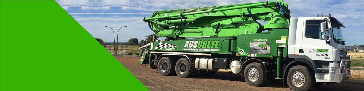 auscrete truck