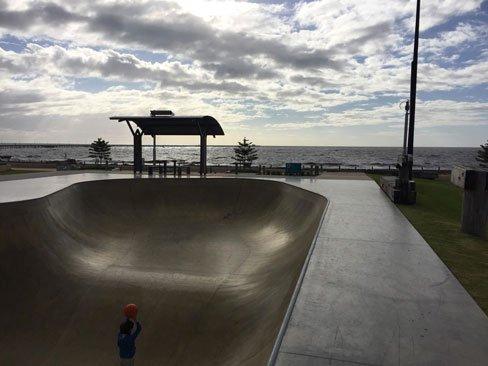 busselton foreshore skate park