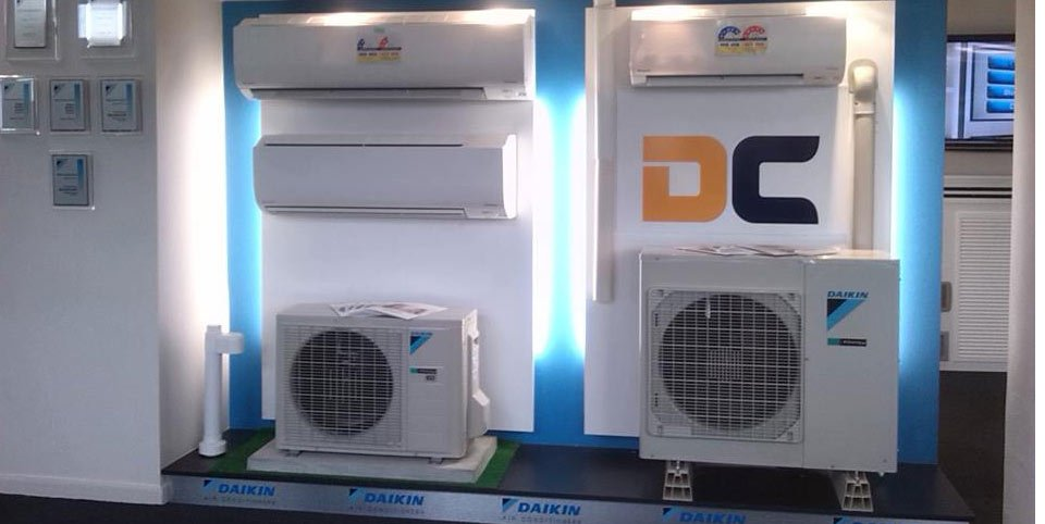 Some of our air conditioning systems offered in Tasmania
