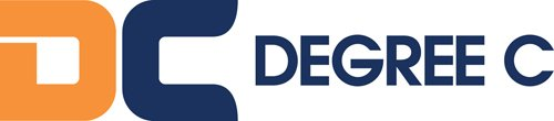 DC Degree C logo long
