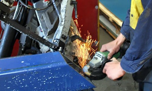 Commercial metal fabrication services in Tasmania