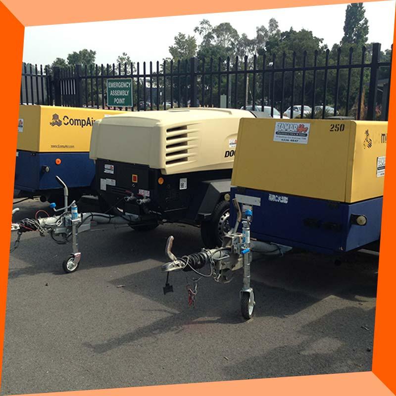 tamar hire compressors a