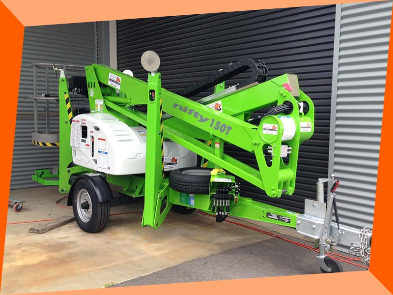 One of our hire access equipment options in Launceston