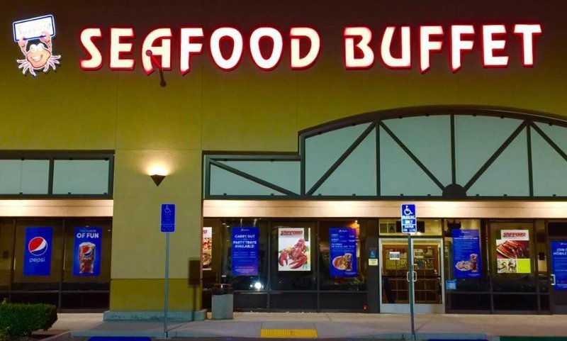 Sapporo Seafood Buffet - plenty of parking
