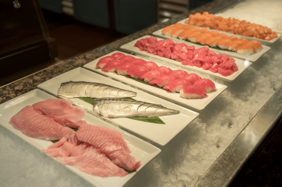 Delicious sushi & sashimi made daily