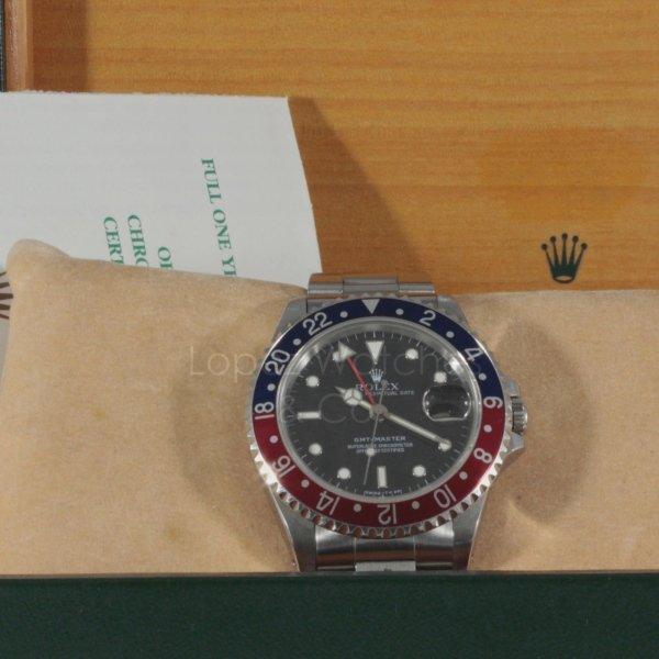 Rolex GMT MASTER PEPSI Lopezwatches