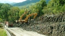 escavatrici, ruspe, edilizia stradale