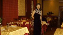 atmosfera orientale, antipasto di frutta di mare, ristorante cinese