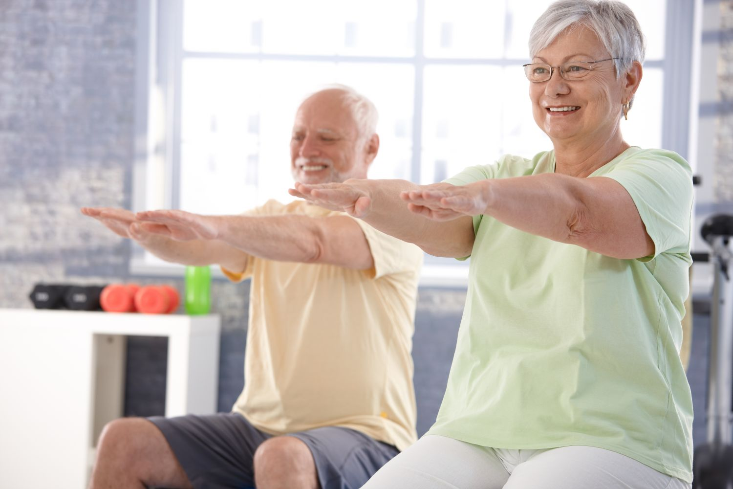 teaching  exercises to help with mobility and strength to support your condition
