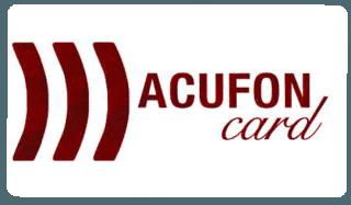 acufon card