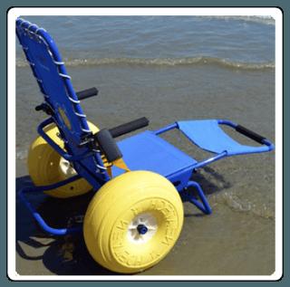 carrozzina da mare
