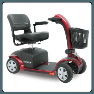 scooter elettrico rosso