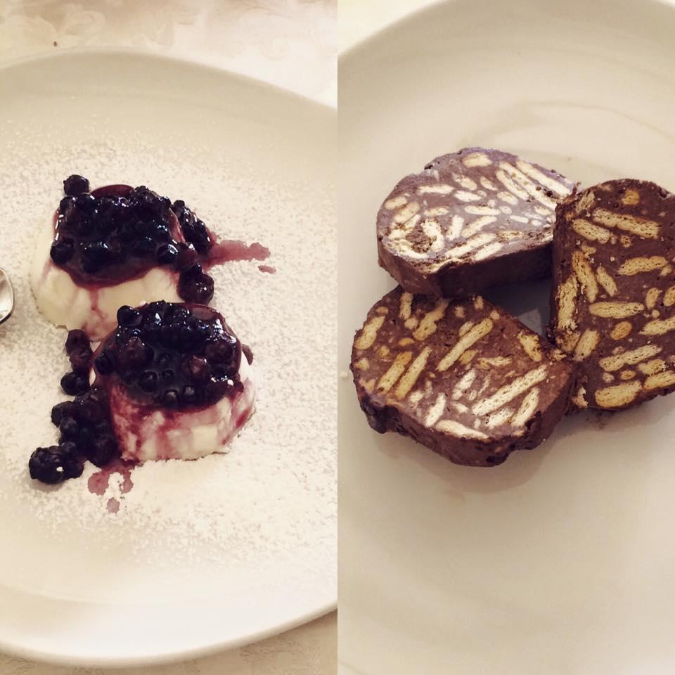 dolci al piatto