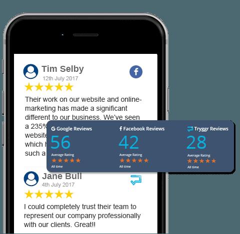 positive online reviews