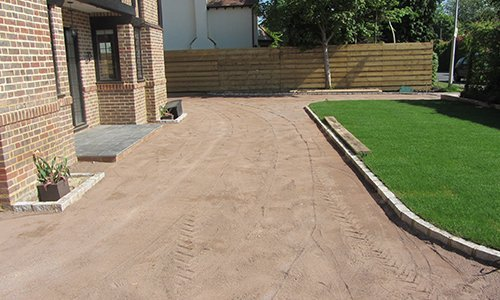 area for patios laying