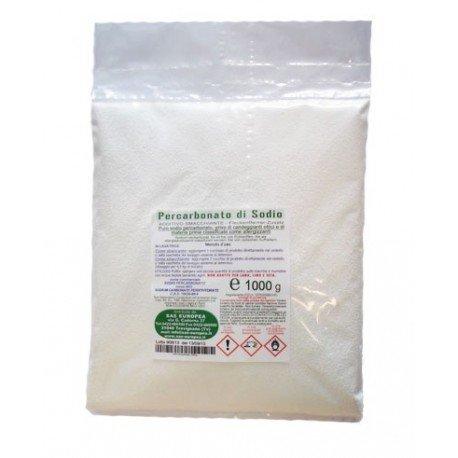 percarbonato di sodio sigillato in busta