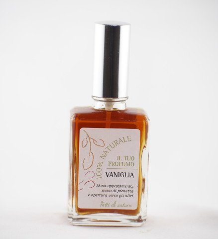 una confezione di profumo di vaniglia planifolia