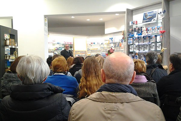 Evento in farmacia