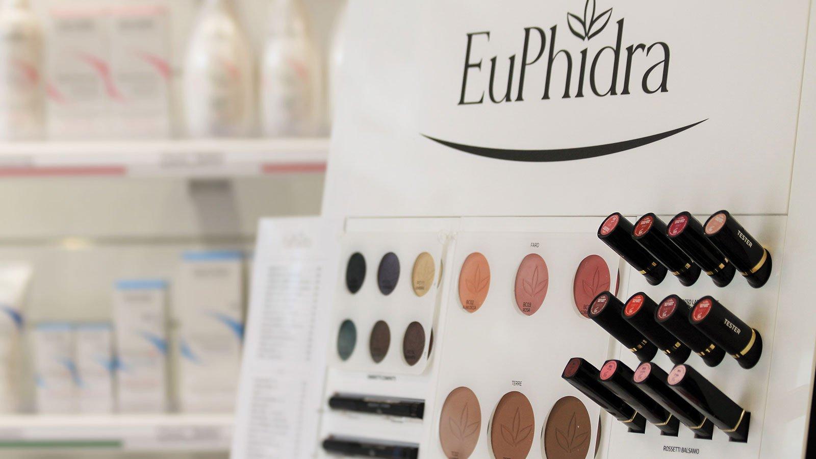 Prodotti di bellezza della marca Euphidra
