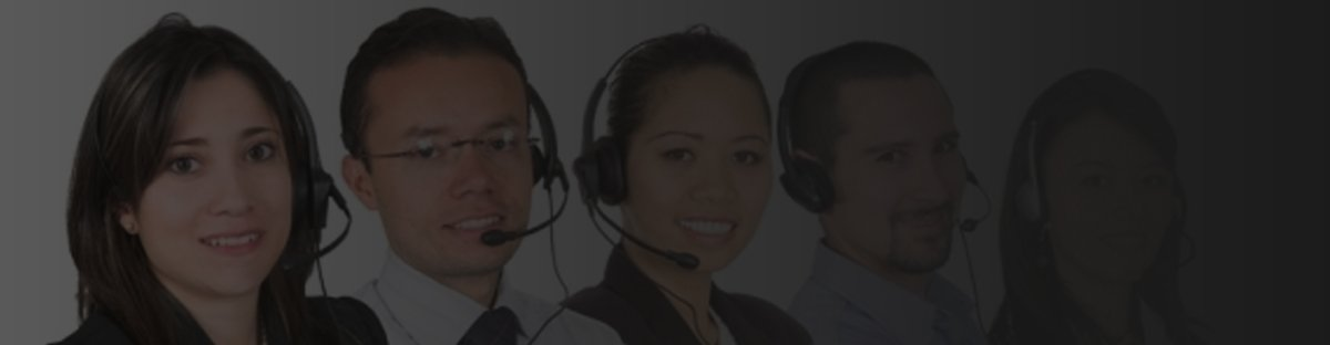 People wearing headsets