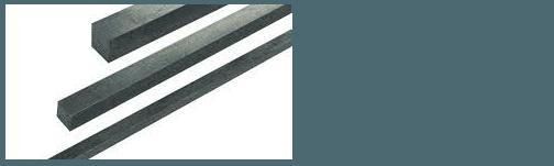 Lines of key steel