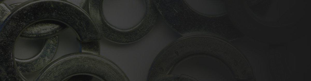 Close up of oil seals