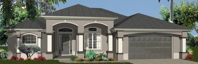 2,725 square foot newly built home