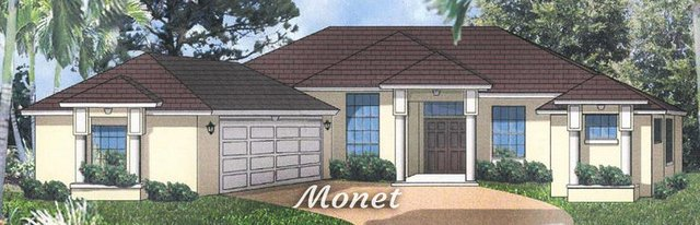 2,523 Sq. Ft. home with an attached garage