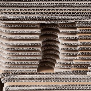 fogli cartone ondulato