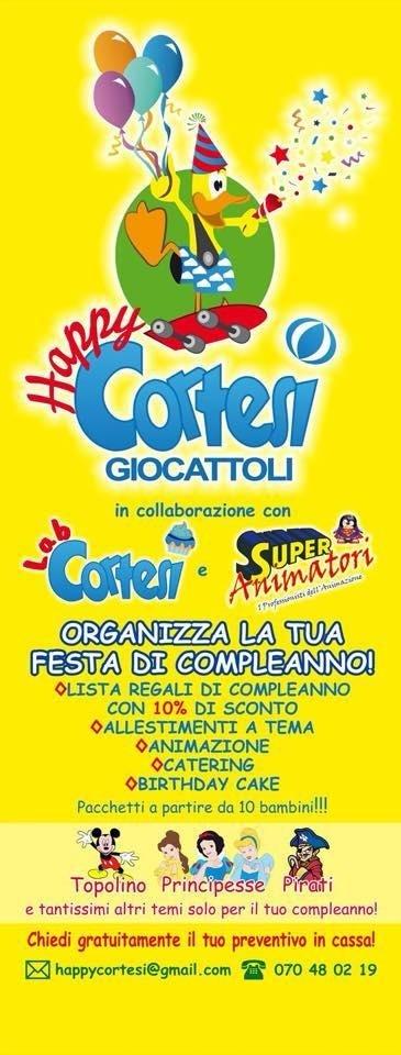 Logo Happy Cortesi