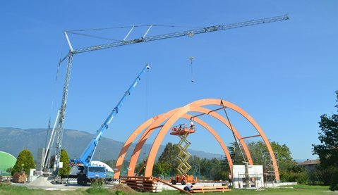 costruzione cupola
