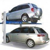 elevatore auto per due macchine