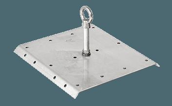 large corrugated surface mount anchor