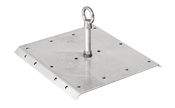 large corrugated surface mount anchor