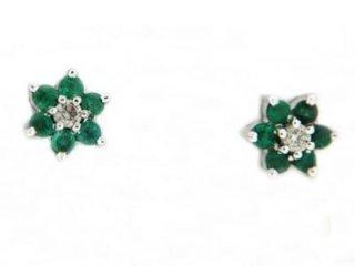 Orecchini smeraldi - Gioilleria Barron
