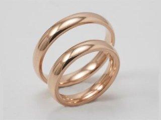 Fedi comode in oro rosa - Gioielleria Barron