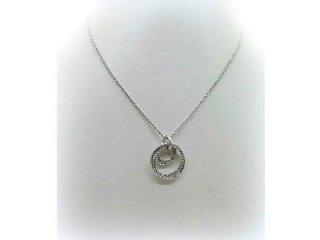 Girocollo Fraboso in argento bianco 925 - Artigianato di Valenza